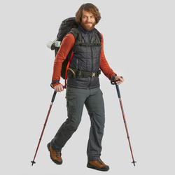 Chaussures de randonnée  en cuir Trek100 – Hommes