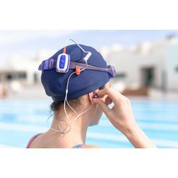 Wasserdichter MP3-Player SwimMusic 100 V3 weiß/orange/grau