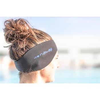 hoofdband zwemmen blauw turkoois maat S omkeerbaar
