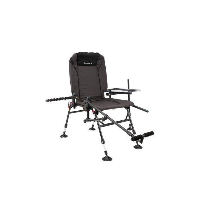 CSB Feeder Adjust + Angel-Stuhl zusammenklappbar grau