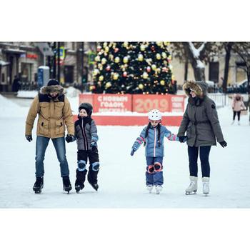 Patins à glace enfant fille PLAY 3 BLANC