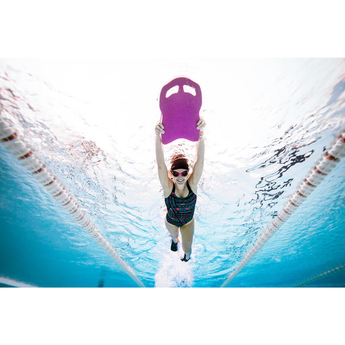 Maillot de bain de natation femme une pièce Taïs Afi noir