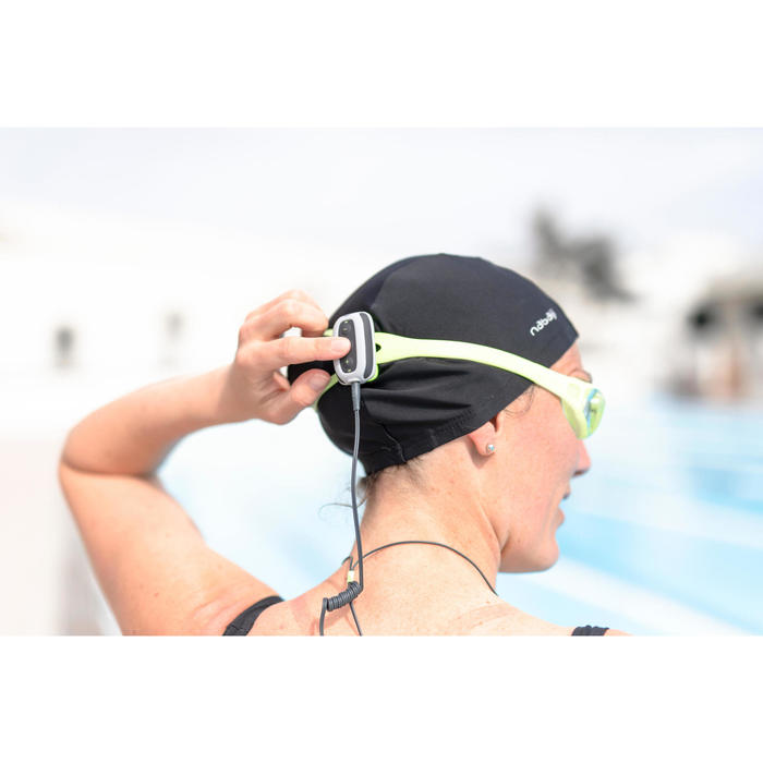 MP3-Player wasserdicht SwimMusic 100 V3 grau/gelb