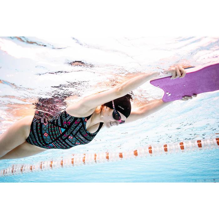 Sportbadpak voor zwemmen dames Taïs Afi zwart