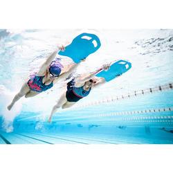 Sportbadpak voor dames Loran zwart Pal blauw