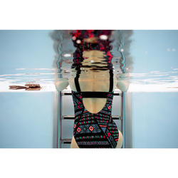 Badeanzug Taïs Afi Damen schwarz