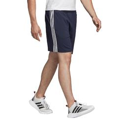 Pantalón Corto Chándal Fitness Cardio Adidas Hombre Azul Marino