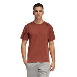 Camiseta de fitness cardio-training hombre naranja