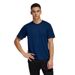 Camiseta manga corta Cardio Fitness Adidas Training hombre azul