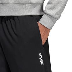 Lichte ademende broek voor cardiofitness heren zwart