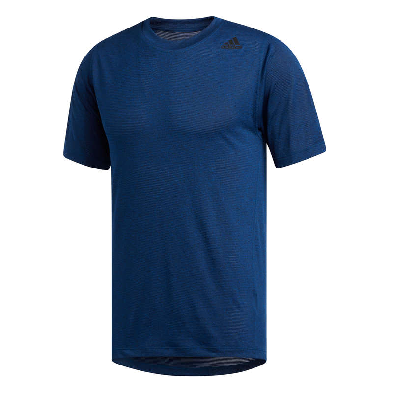 MAN FITNESS APPAREL - T-shirt - Blue ADIDAS