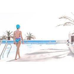 Maillot de natation fille une pièce Riana Sta bleu