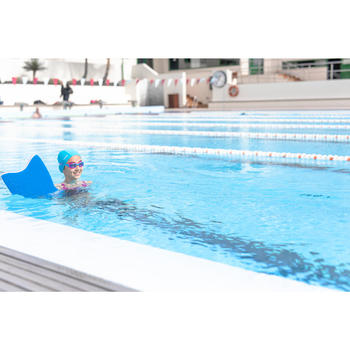 Lunettes de natation 100 XBASE Taille S DYE Rose Bleu