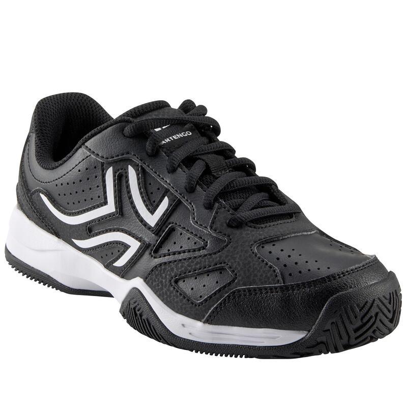Dětské tenisové boty TS530 černo-růžové