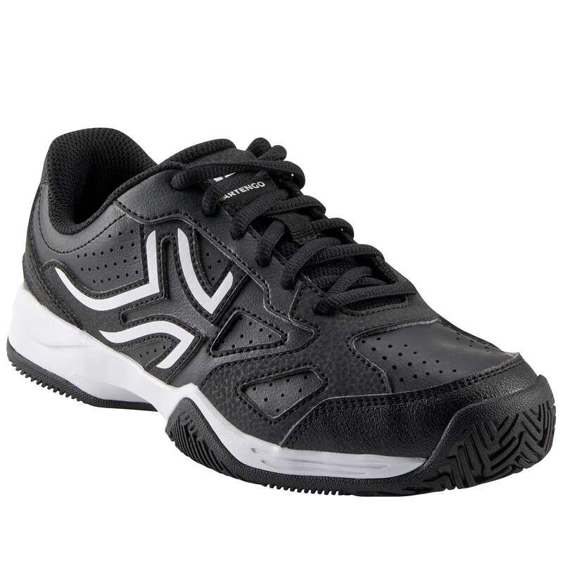 TENNISSKOR JUNIOR Barnskor - TS530 LACE junior svart ARTENGO - Typ av sko