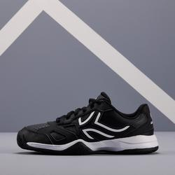 Tennisschoenen voor kinderen Artengo TS530 zwart wit