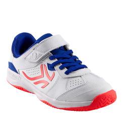 Tennisschuhe TS160 Turnschuhe Kinder weiß/pink