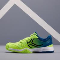 TS560 JR Kids' Tennis Shoes - Blue/Yellow