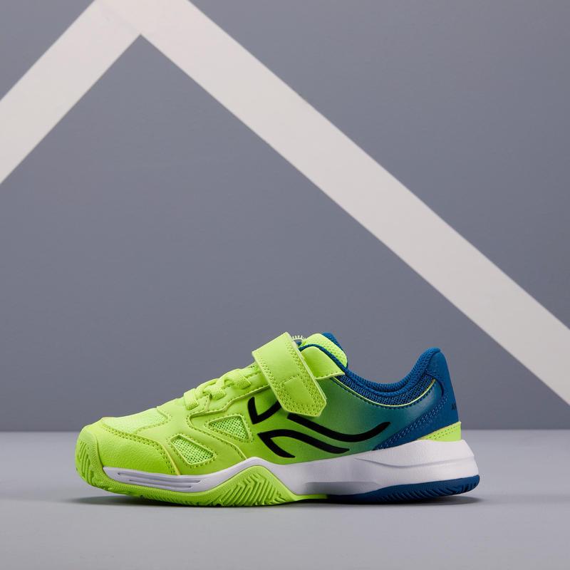 TS560 KD Kids' Tennis Shoes - Blue/Yellow