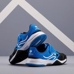 Tennisschoenen voor kinderen Artengo TS560 KD blauw zwart