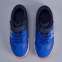 TS160 Kids' Tennis Shoes - Indigo/Silver