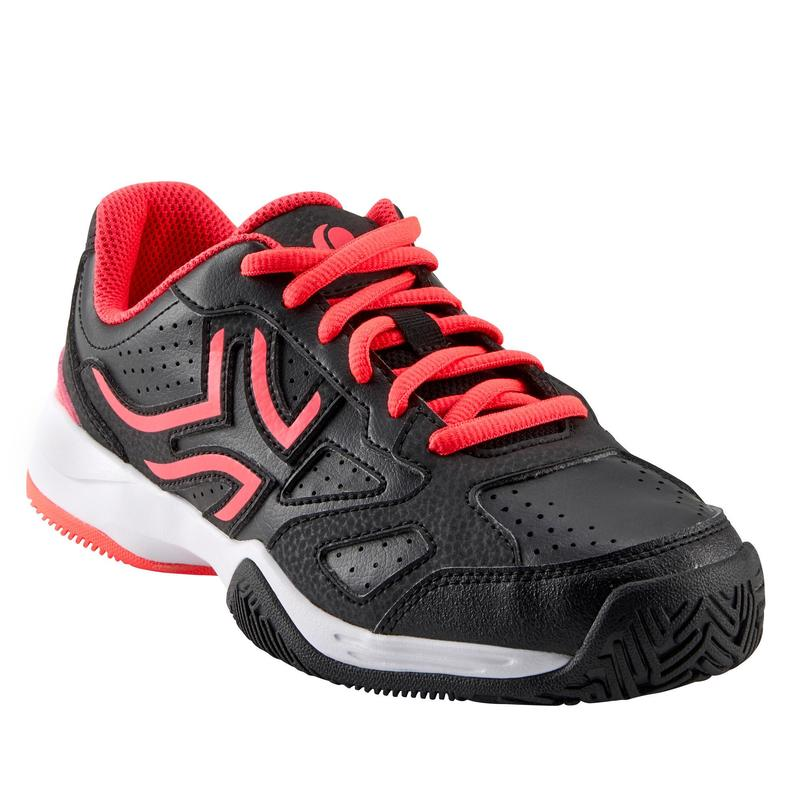 Dětské tenisové boty TS560 černo-růžové