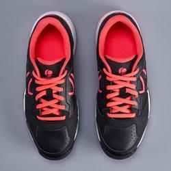 Tennisschoenen voor kinderen Artengo TS530 zwart roze