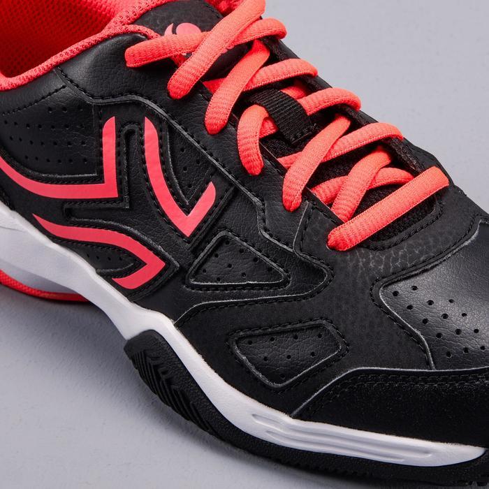 Tennisschuhe TS530 Tunrschuhe Kinder schwarz/rosa
