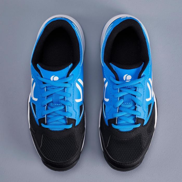 CHAUSSURES DE TENNIS ENFANT ARTENGO TS560 JR BLACK BLUE