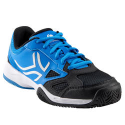 CHAUSSURES DE TENNIS ENFANT ARTENGO TS560 JR BLACK BLUE