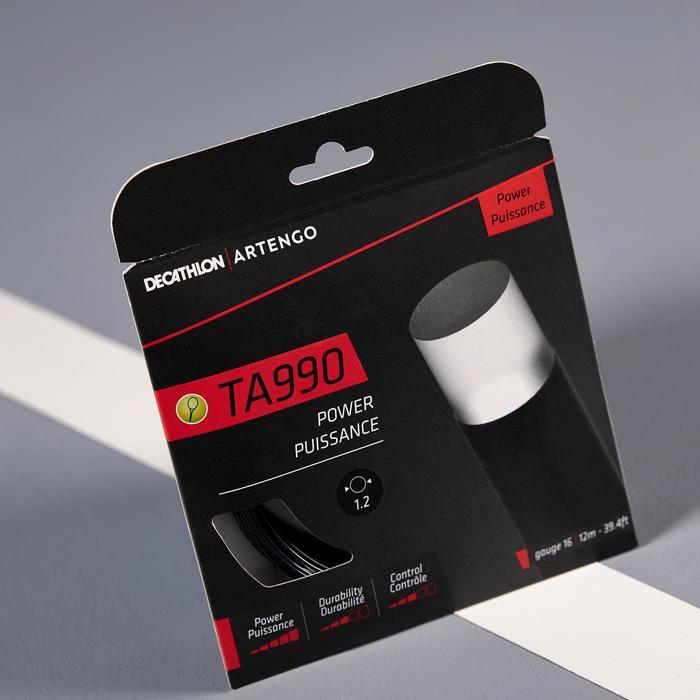 Tennissaite TA 990 Power 1,20 mm Monofaser schwarz