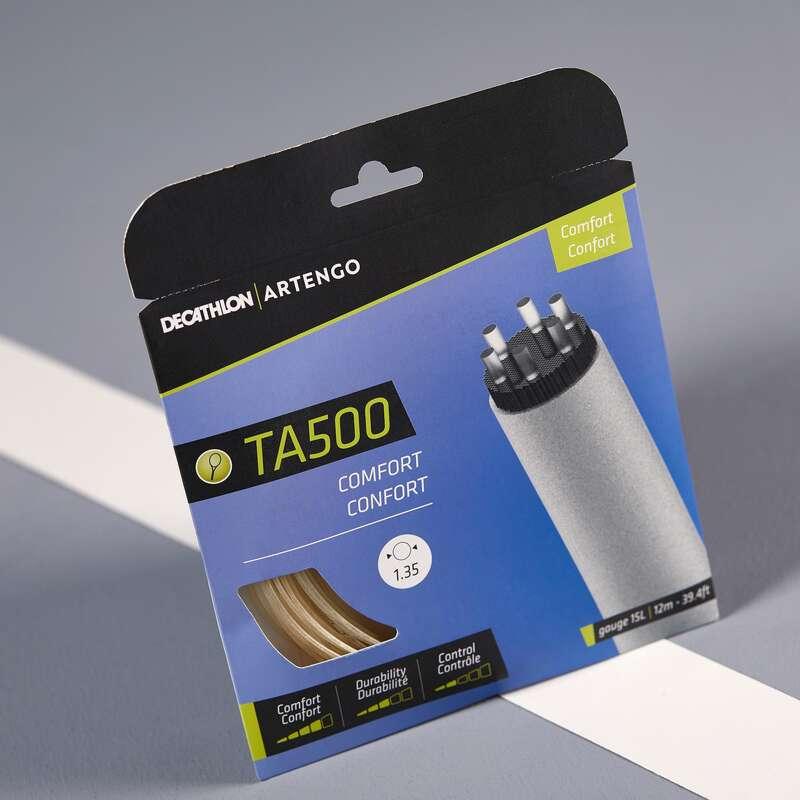 CORDAJ RACHETE TENIS Sporturi cu racheta - Cordaj TA500 CONFORT 1.35mm ARTENGO - Mingi de tenis si accesorii