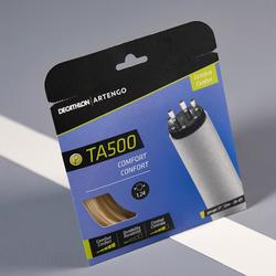 Multifilament tennisbesnaring bruin TA 500 Comfort Sensation doorsnede 1,24 mm.