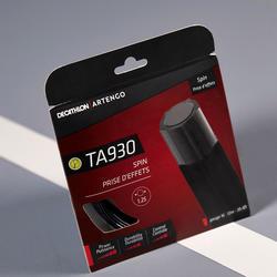 Tennissaite TA 930 Spin Monofaser Pentagonal schwarz 1,25mm
