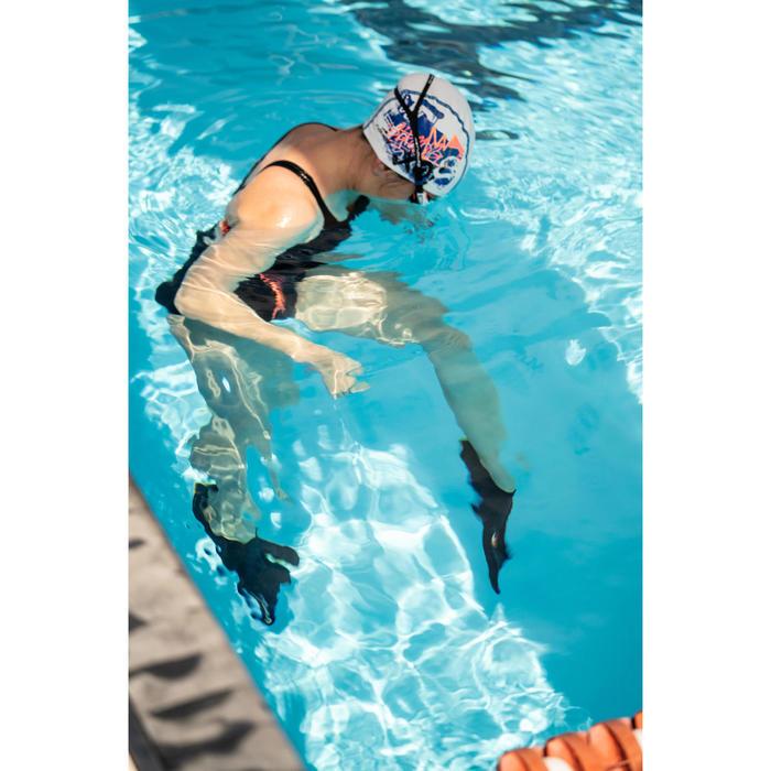 Korte zwemvliezen Silifins 500 zwart