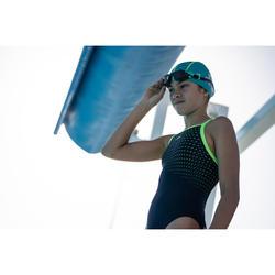 Bañador de natación una pieza niña resistente al cloro Jade