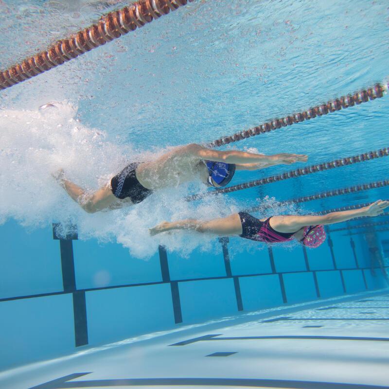 Zwemwedstrijden voor mensen met een beperking
