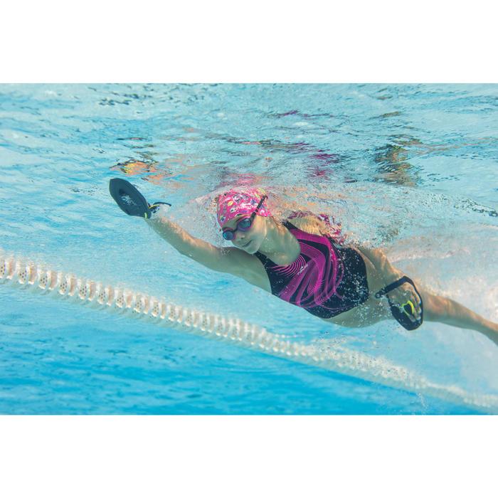Maillot de bain de natation une pièce fille résistant au chlore Kamiye