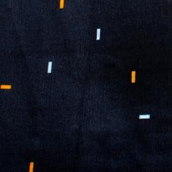 自行車運動脖圍100 - 藍色/橘色