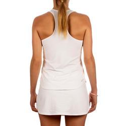 Sportshirt racketsporten Dri-Fit dames wit - 168762