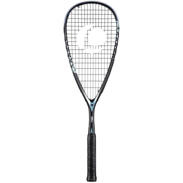 Squashracket set SR 560 (racket SR 560 en tas voor 3 rackets)