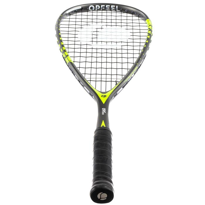 Set squashracket SR 560 Club (2 rackets, bal met rode stip en tas)