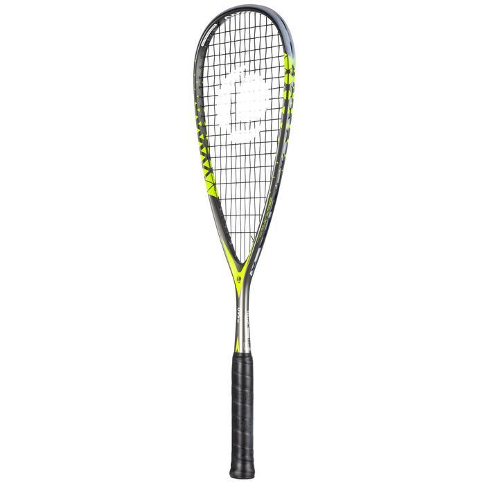 Squashschläger-Set SR560 Club (2 Schläger, Ball mit rotem Punkt, Schlägerhülle)
