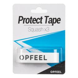Beschermingstape squashracket protect tape wit set van 3