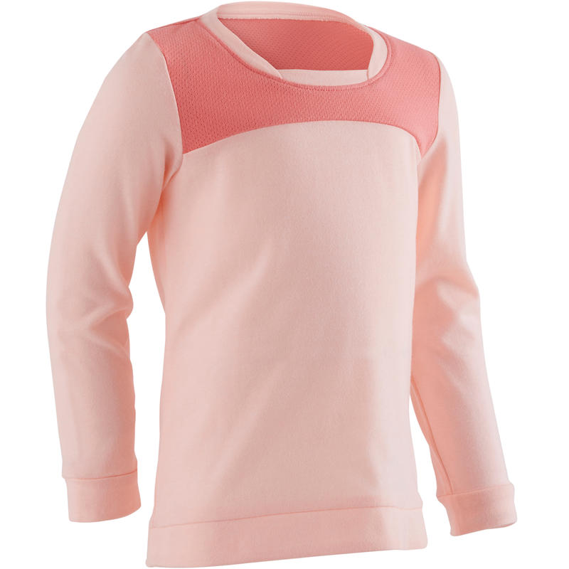 500 Baby Gym Long-Sleeved T-Shirt - Pink
