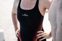 Women's one-piece chlorine-resistant swimsuit Kamiye Lazo