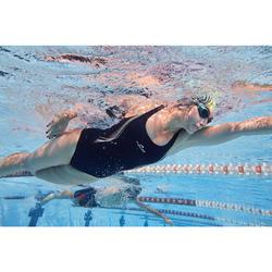 Maillot de bain de natation une pièce femme résistant au chlore Kamiye