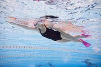 Silifins Short Swim Fins  Pink