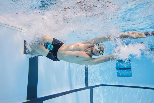 Swimming workout: counting your lengths