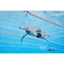 Lange zwemboxer voor heren 500 zwart Layo Oranje